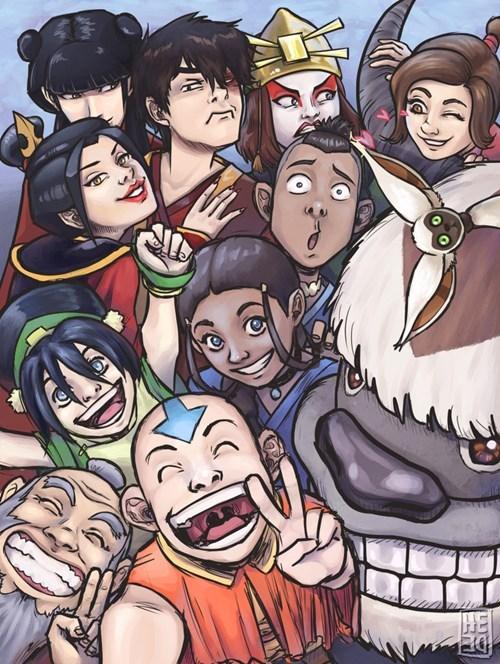 Fan Art Avatar the Last Airbender selfie Avatar - 8374683648