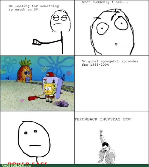 throwback SpongeBob SquarePants TV cartoons - 8374794752