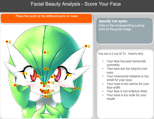 Pokémon beauty gardevoir