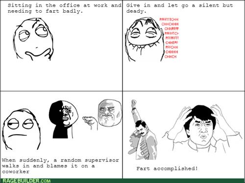 work coworkers fart - 8374987520