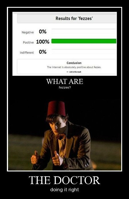 FEZ doctor who funny - 8375268864