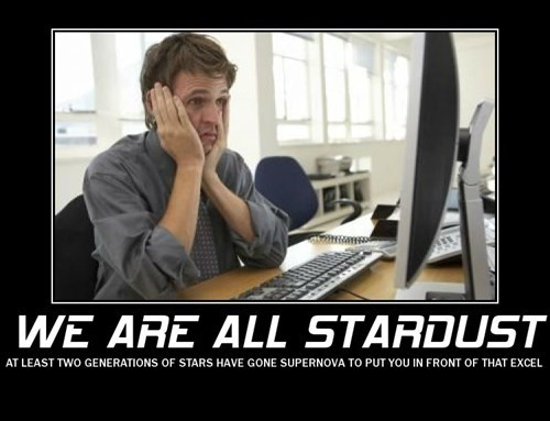 depressing stardust work science funny