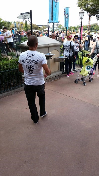 disney,poorly dressed,t shirts,couple