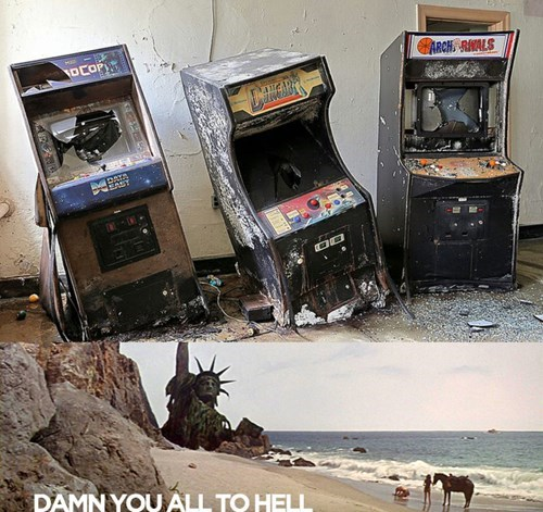 arcades,game over