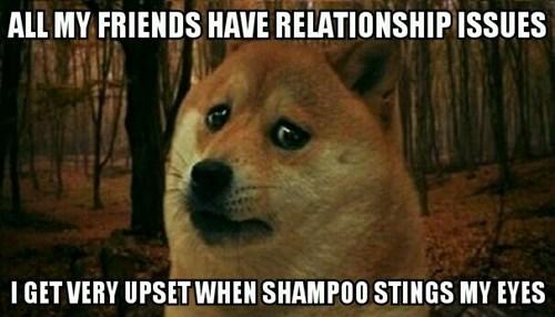 relationship Sad problem shampoo - 8375443968