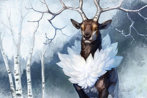 Fan Art Pokémon sawsbuck - 8375475712