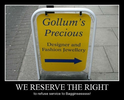 Lord of the Rings Precious gollum Jewelry funny - 8375966208