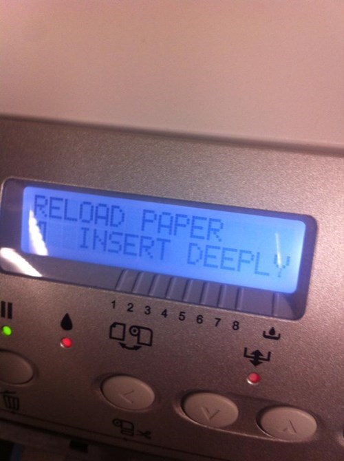 monday thru friday,deep,printer
