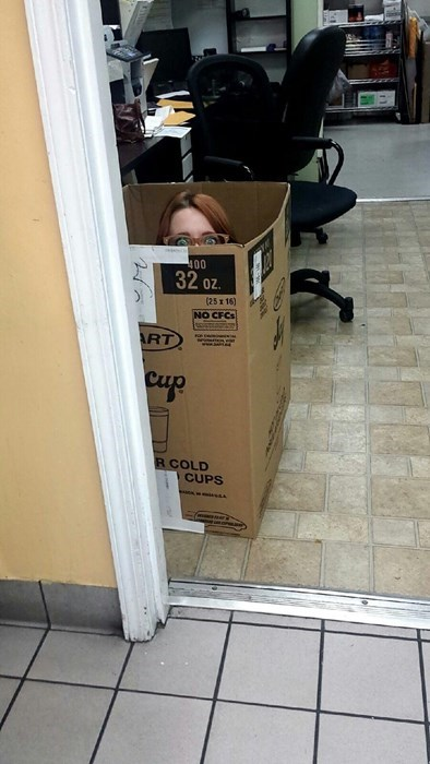 box hiding monday thru friday - 8376002560