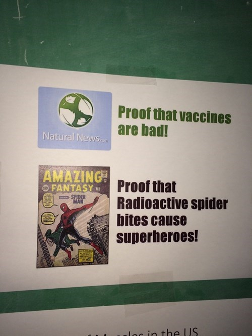 Spider-Man,vaccines,anti-vaxxers