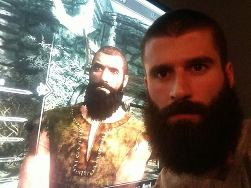 beards,men,character creation,Skyrim