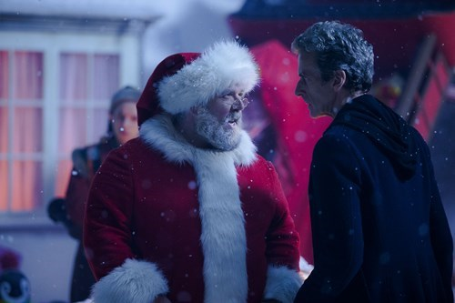 christmas,Nick Frost,12th Doctor,santa claus