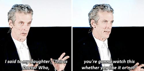 Peter Capaldi parenting 12th Doctor - 8376221952