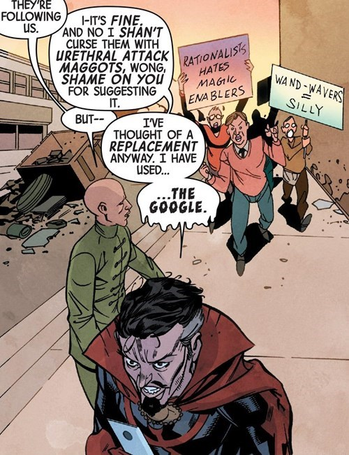 Straight off the Page doctor strange - 8376241408