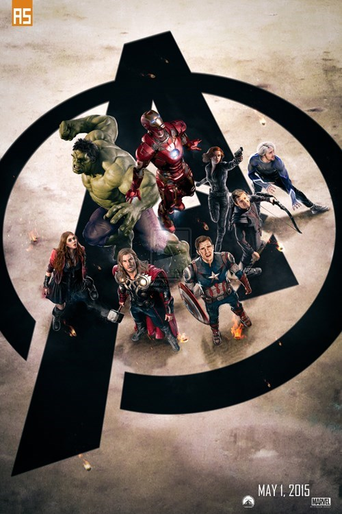 age of ultron poster fanmade The Avengers - 8376245760
