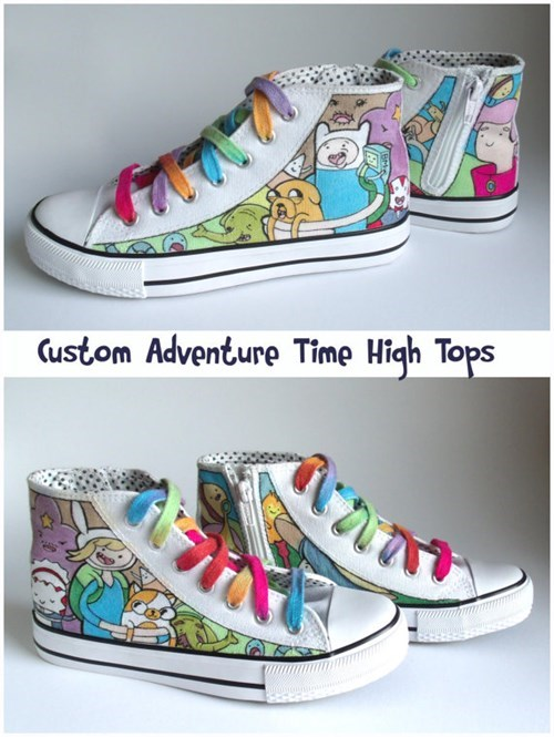 shoes for sale cartoons adventure time - 8376276992