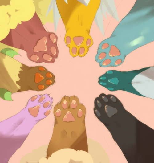 paws,Fan Art,eeveelutions,cute
