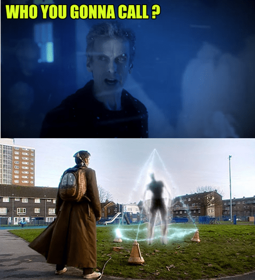 10th doctor,ghost busters,12th Doctor
