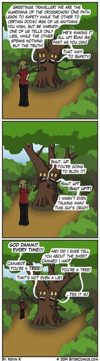 trees lies paths web comics - 8376689664