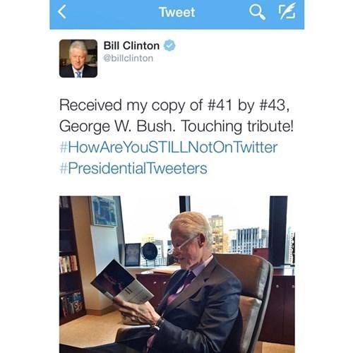 instagram george w bush bill clinton - 8376790272