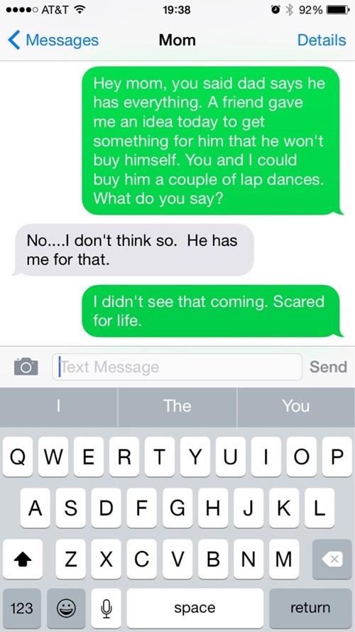 christmas parenting texting - 8376815872
