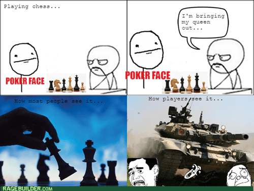 poker face,chess