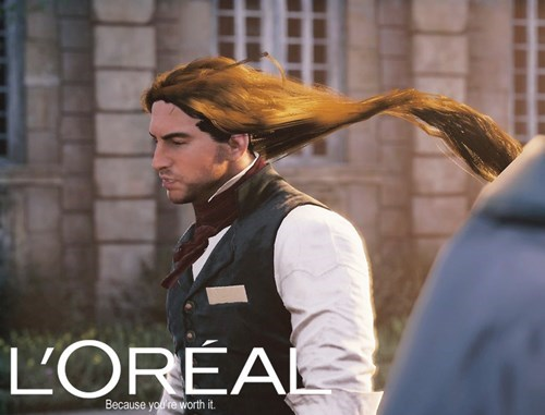 because-youre-worth-it assassin's creed unity loreal - 8376916224