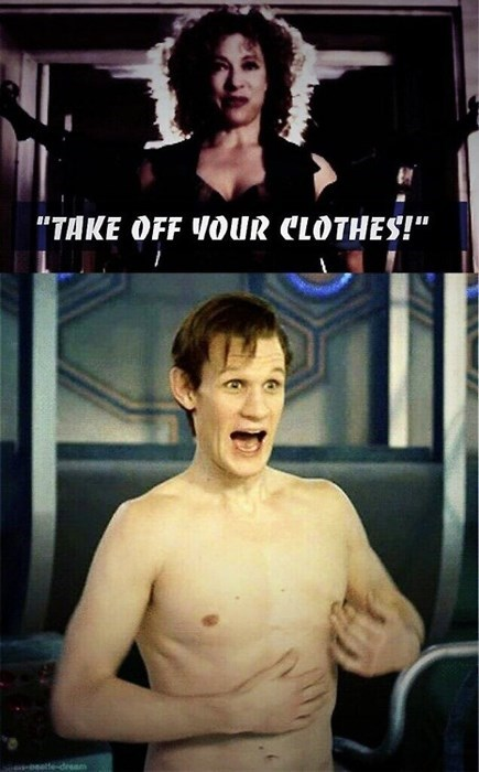 11th Doctor naked River Song - 8376984064
