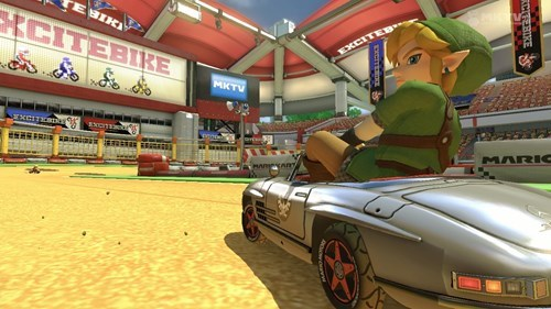 DLC link video games mario kart 8 - 8377031168