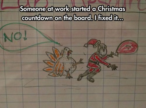 monday thru friday christmas november calendar thanksgiving coworkers g rated - 8377093888