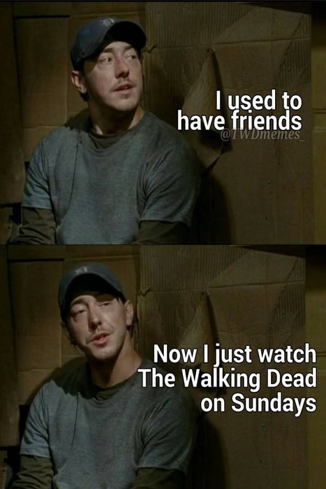 friends,The Walking Dead