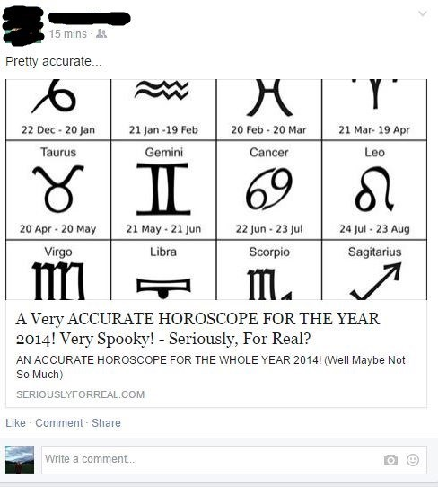conspiracy,horoscope,true facts