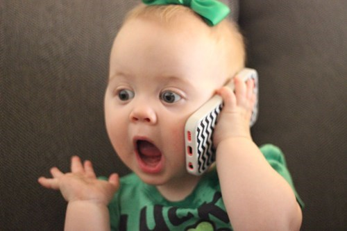baby,expression,phone,parenting
