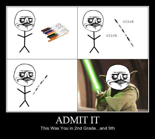 admit lightsaber kids Jedi