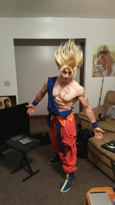 That is Some Super Saiyan Strength Hair Gel