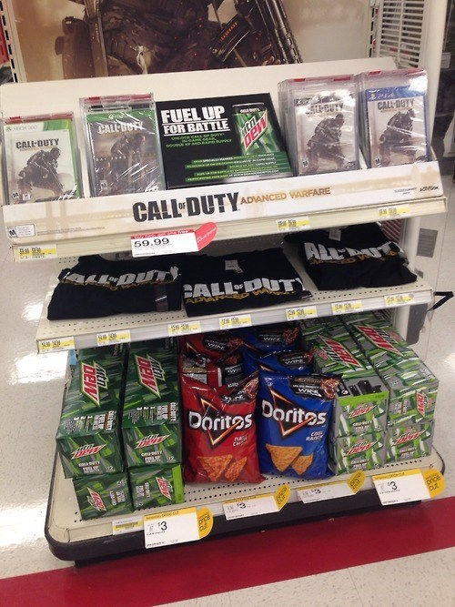 call of duty advanced warfare mountain dew neckbeards doritos call of duty advanced warfare video games - 8377743872