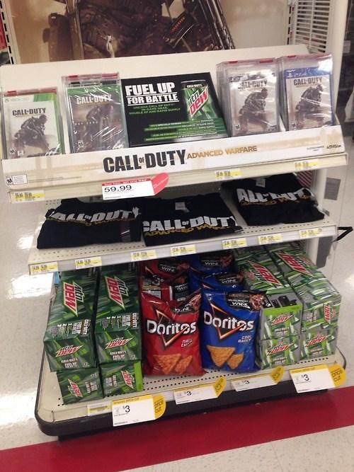 call of duty mountain dew neckbeards doritos video games - 8377743872