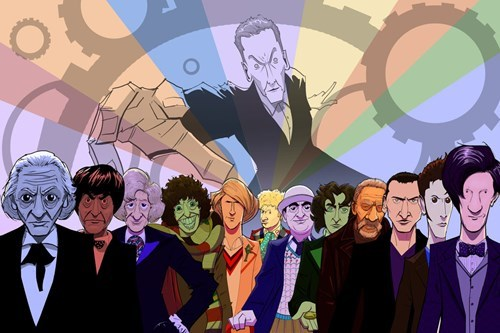 Fan Art the doctor regeneration - 8377765632