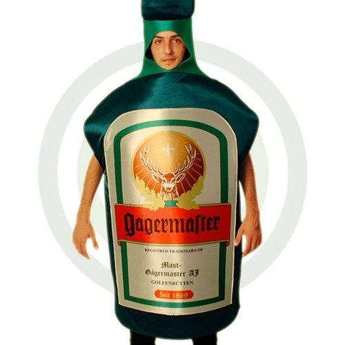 costume drunk jagermeister funny - 8377775616