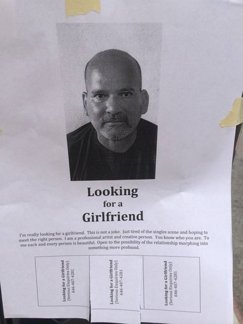 advertisement flyers girlfriend funny - 8377789696