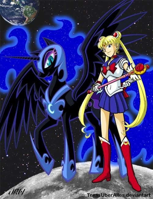 sailor moon princess luna - 8377797632