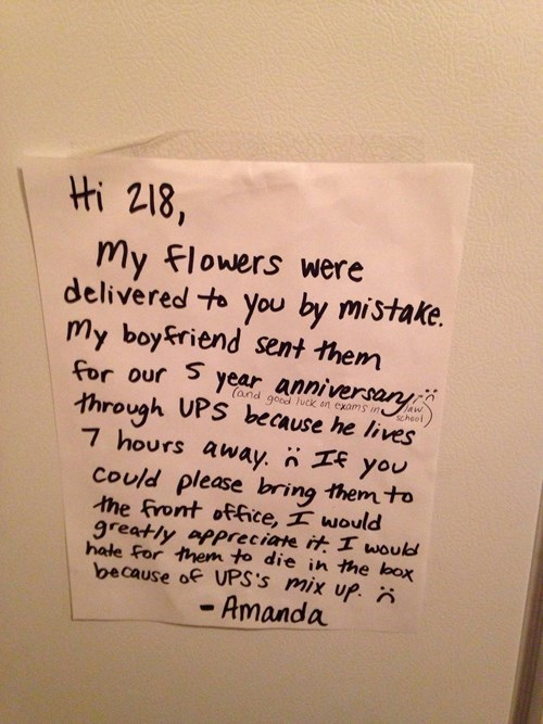 boyfriend note flowers funny dating g rated - 8377868544
