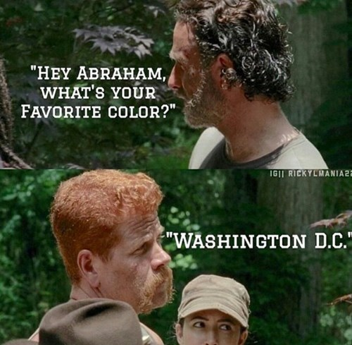 abraham ford Rick Grimes washington dc - 8377883648