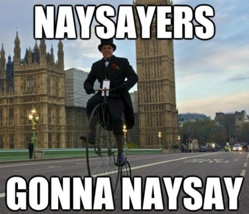 haters gonna hate naysayers - 8377890816