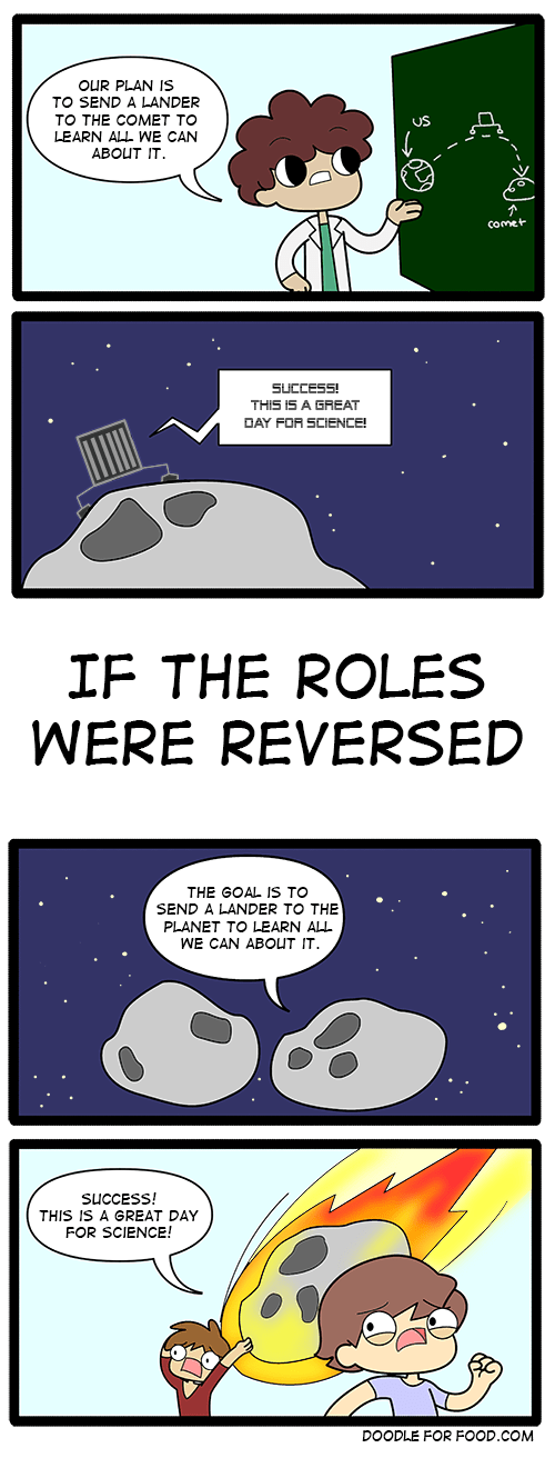 yikes comet sad but true science web comics - 8377951744