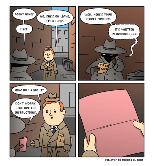 secret agent spy web comics - 8377958400