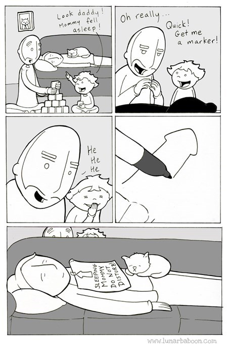 parenting pranks web comics - 8377961216