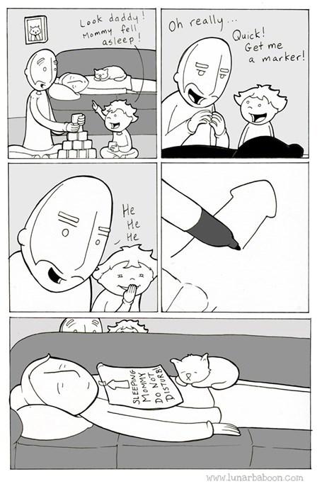 parenting pranks web comics - 8377961216