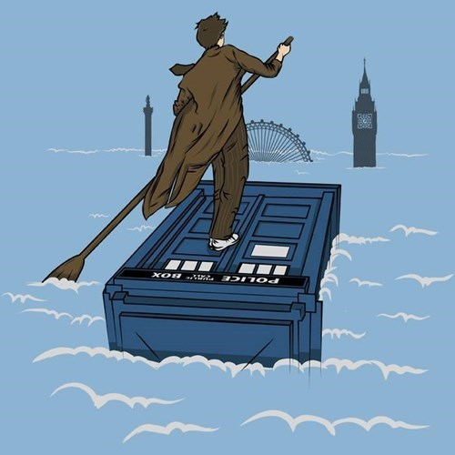 tshirts 10th doctor tardis - 8377967616