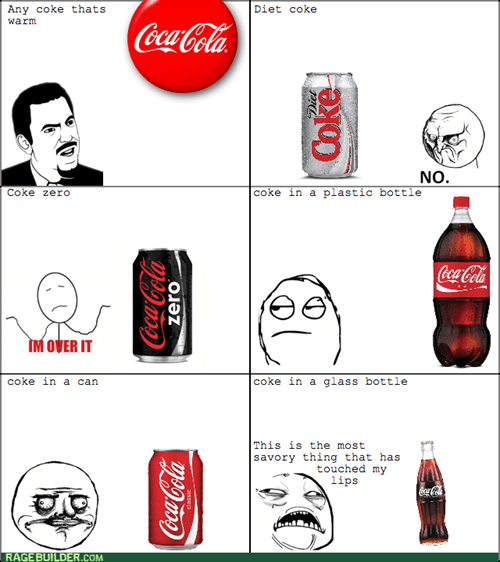 The stages of coke